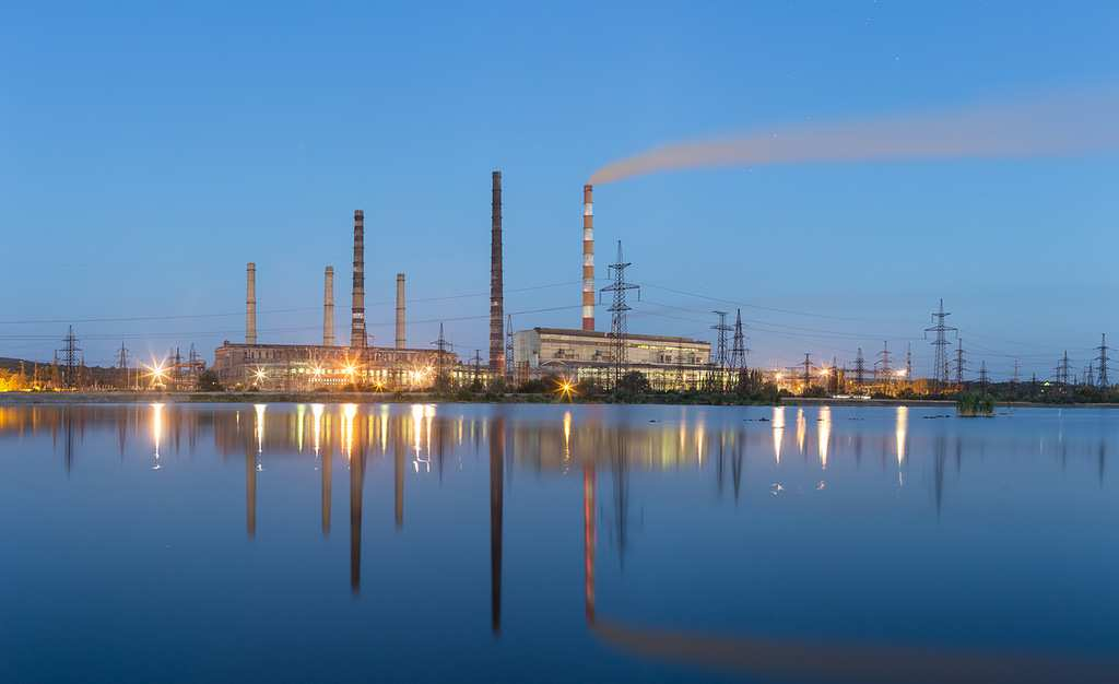 Славянская ТЭС остановлена из-за отсутствия средств на закупку угля | Русская весна