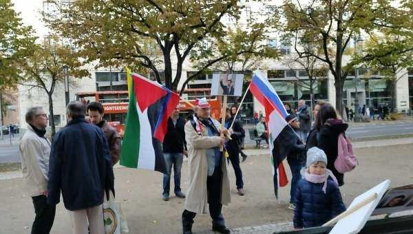 Митинг в поддержку действий России в Сирии прошел в Словакии | Русская весна