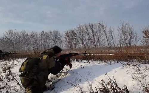 Горловка вновь под обстрелом фашистов, под Дзержинском уничтожена минометная батарея ВСУ   Русская весна