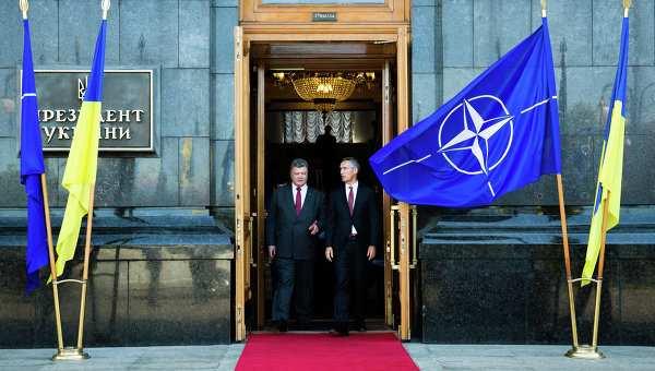 Украина и НАТО подписали дорожную карту по оборонному сотрудничеству | Русская весна
