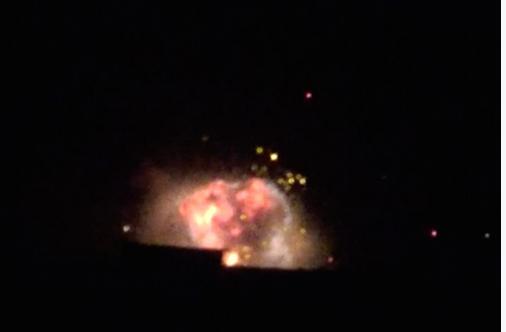 Террористы в шоке — российская авиация несколько часов назад накрыла склад боеприпасов (ВИДЕО) | Русская весна
