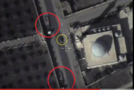 ВАЖНО: террористы ИГИЛ прячут боевую технику у мечетей в Сирии (ВИДЕО с БПЛА РФ)   Русская весна