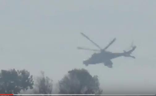 Российские вертолеты атакуют террористов под Хамой (ВИДЕО, перевод)   Русская весна