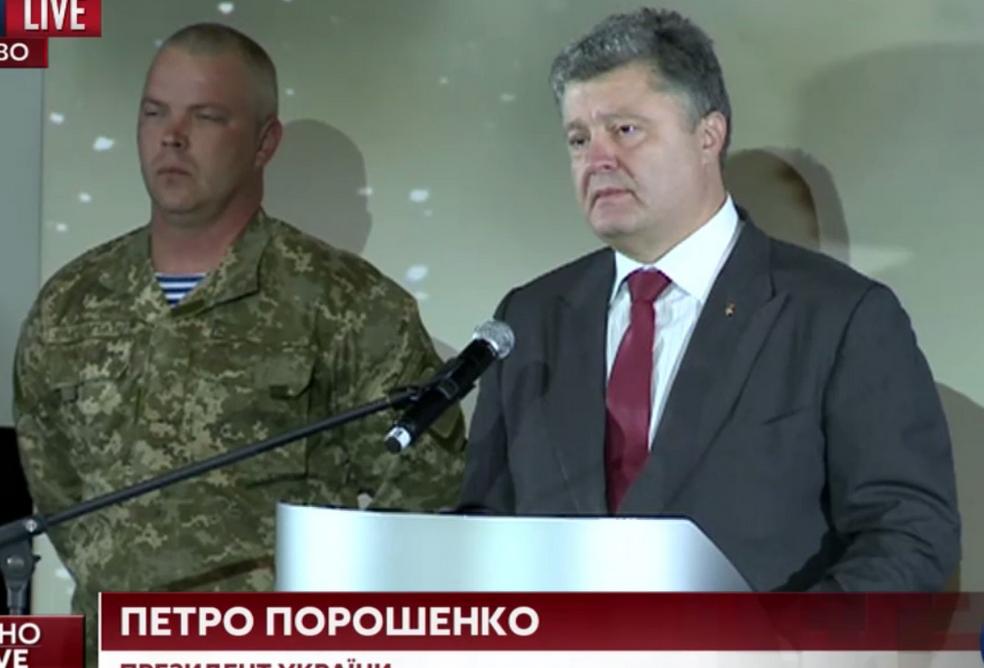 Порошенко заявил о победе украинской армии в Иловайском «котле» | Русская весна