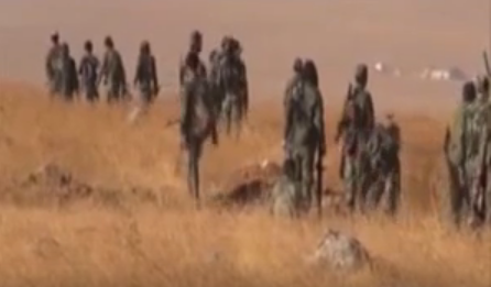 Сирийские военные передали «Русской Весне» кадры наступления под Алеппо (строго 18+) | Русская весна