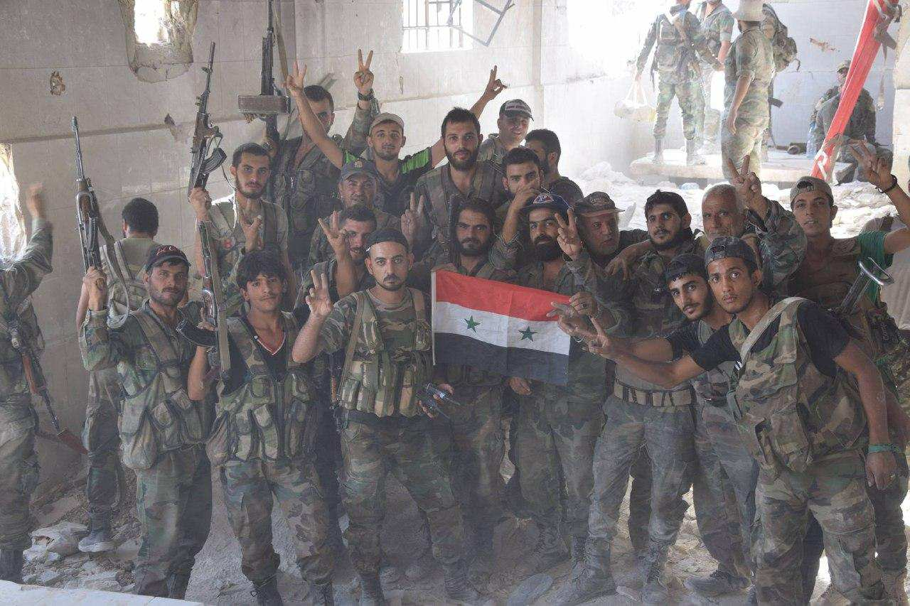Шейх Мубарак ведёт за собой сирийцев на бой с террористами (ФОТО) | Русская весна