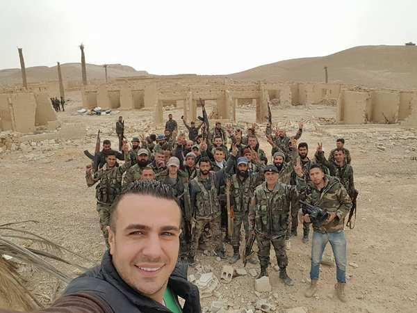 СРОЧНО: Сирийская армия взяла штурмом авиабазу Пальмиры (ФОТО+КАРТА) | Русская весна