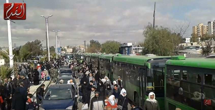 ВАЖНО: 4000 боевиков ИГИЛ и «ан-Нусры» эвакуируются из Дамаска в Ракку, тысячи сирийцев возвращаются в свои дома (ВИДЕО)   Русская весна