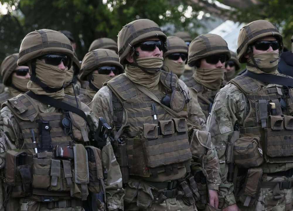 Спецназ блокирует колонну боевиков «Донбасса», пытающихся прорваться вКиев (ВИДЕО) | Русская весна