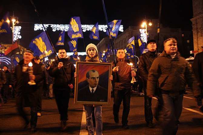 Тягнибок заявил о победе национализма и «бандеризации Украины»   Русская весна