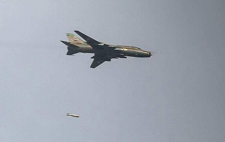 СРОЧНО: В Сирии ракетой ПЗРК сбит истребитель-бомбардировщик Су-22 (+ВИДЕО) | Русская весна