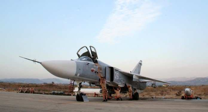 ВВССирии получили модернизированные бомбардировщики Су-24, — СМИ   Русская весна
