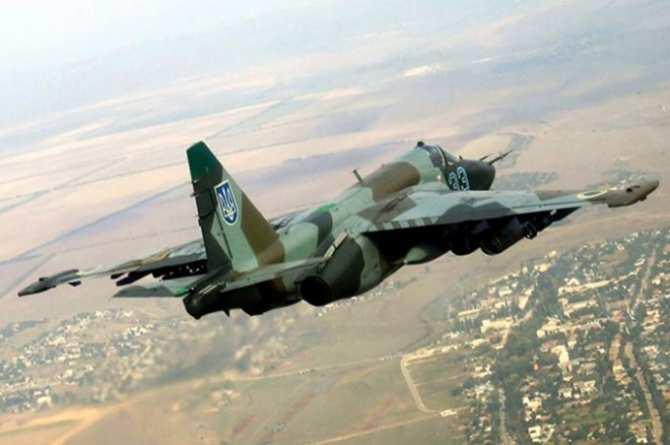 На Украине разбился Су-25, пилот погиб | Русская весна