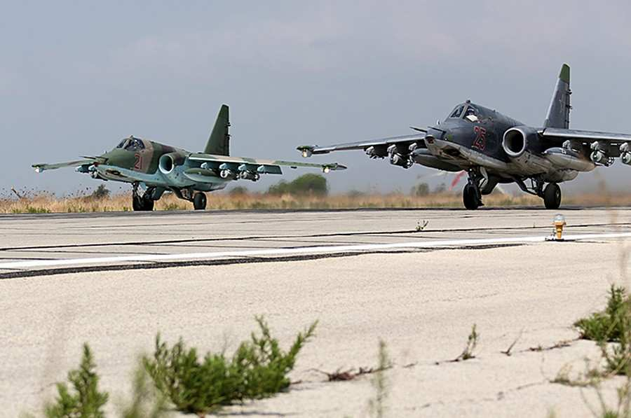 ВАЖНО: В Сирию переброшены 12 штурмовиков Су-25 ВКС РФ, — источник (ФОТО, ВИДЕО) | Русская весна