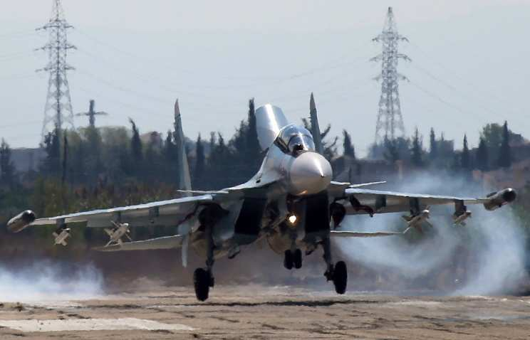 Минобороны: российские самолеты во вторник совершили около 20 боевых вылетов в Сирии   Русская весна