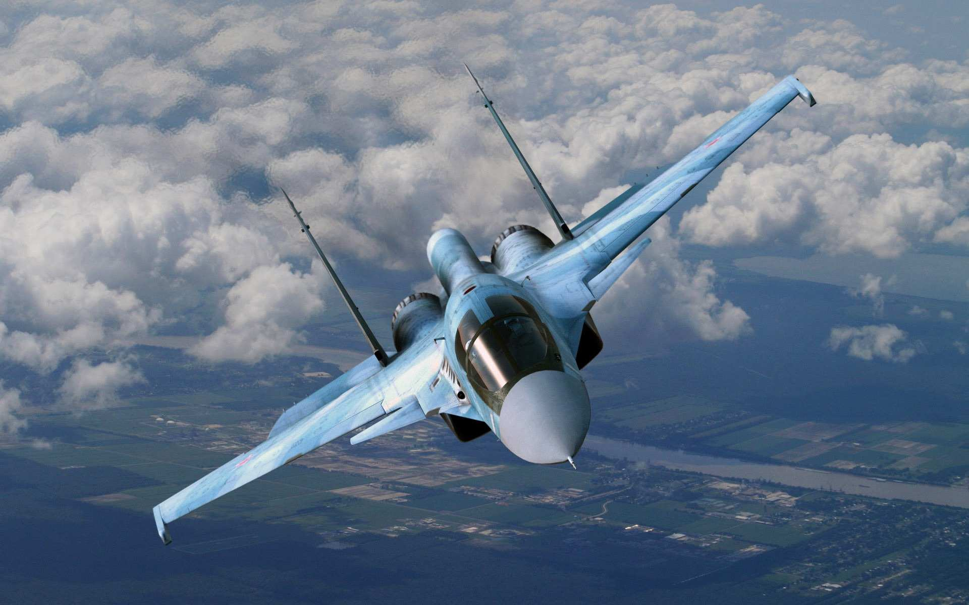 Кадры новейшего бомбардировщика Су-34 на боевом задании в Сирии (ВИДЕО) | Русская весна