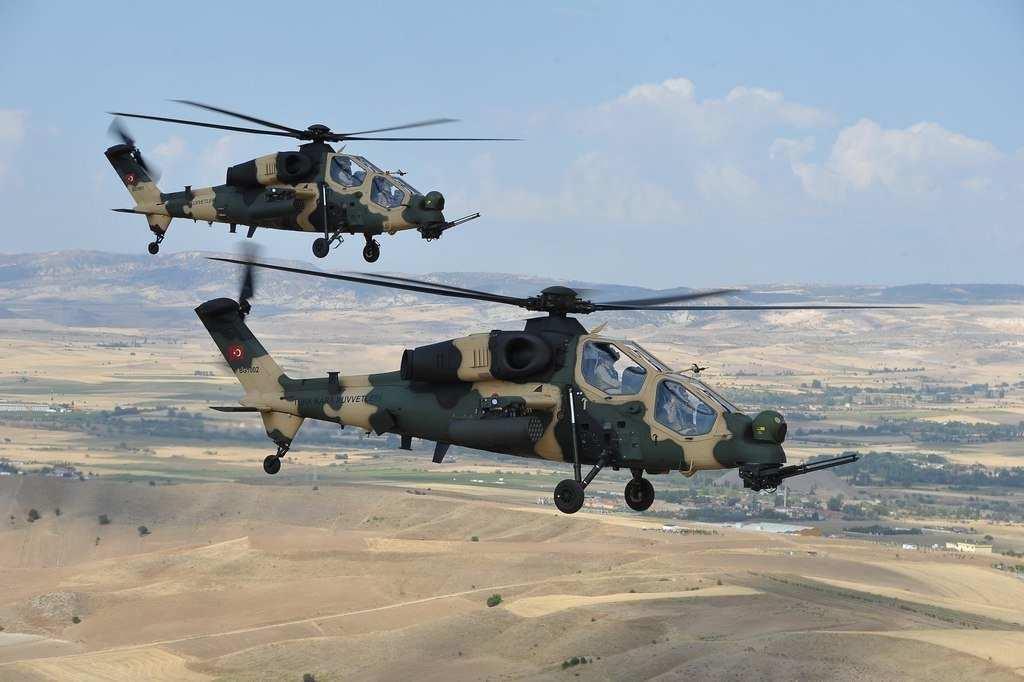 Кадры боя: Боевые вертолёты ВВС Турции атакуют курдов в Сирии (ВИДЕО) | Русская весна