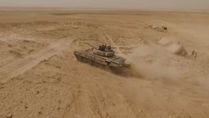 Ожесточенные бои за Пальмиру: ИГИЛ, дагестанские террористы, казни и сильнейшая пыльная буря (ВИДЕО) | Русская весна
