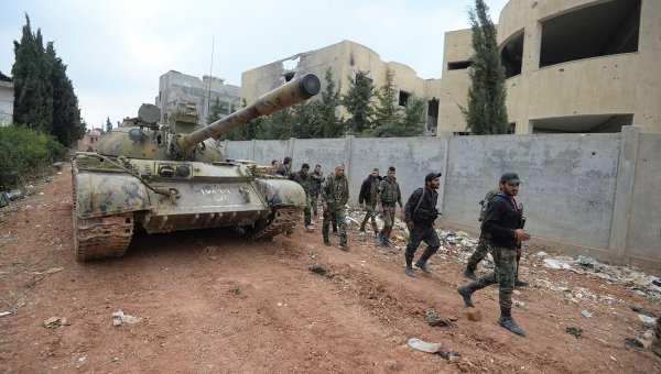 Генштаб РФ: сирийские войска теснят террористов в ряде провинций | Русская весна
