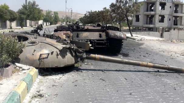 «Тимур»: В Дарайя — котел, террористы сдадутся или их уничтожат, к боевикам в Азаз прибыли турецкие офицеры, в Алеппо — разборки между бандами | Русская весна