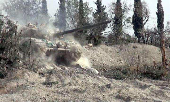 ВАЖНО: Армия Сирии ведет масштабное наступление вАлеппо: взята база ПВО и высоты у Хан-Тумана | Русская весна