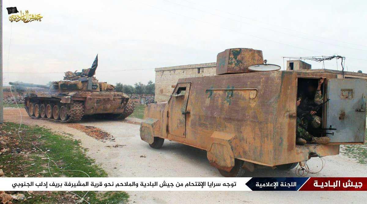 ВАЖНО: Смертники и банды с бронетехникой пытаются прорваться в Дамаск, идут жестокие бои | Русская весна