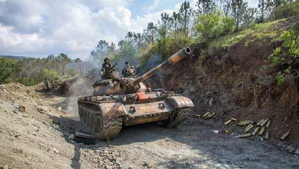 Позывной «Тимур»: в Сирии продолжаются тяжелые бои, террористы несут большие потери и оставляют населенные пункты    Русская весна