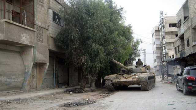 ВАЖНО: Армия Сирии при поддержке ВКС РФ отбила н.п. Мхин и базу 82-й бригады (КАРТА) | Русская весна
