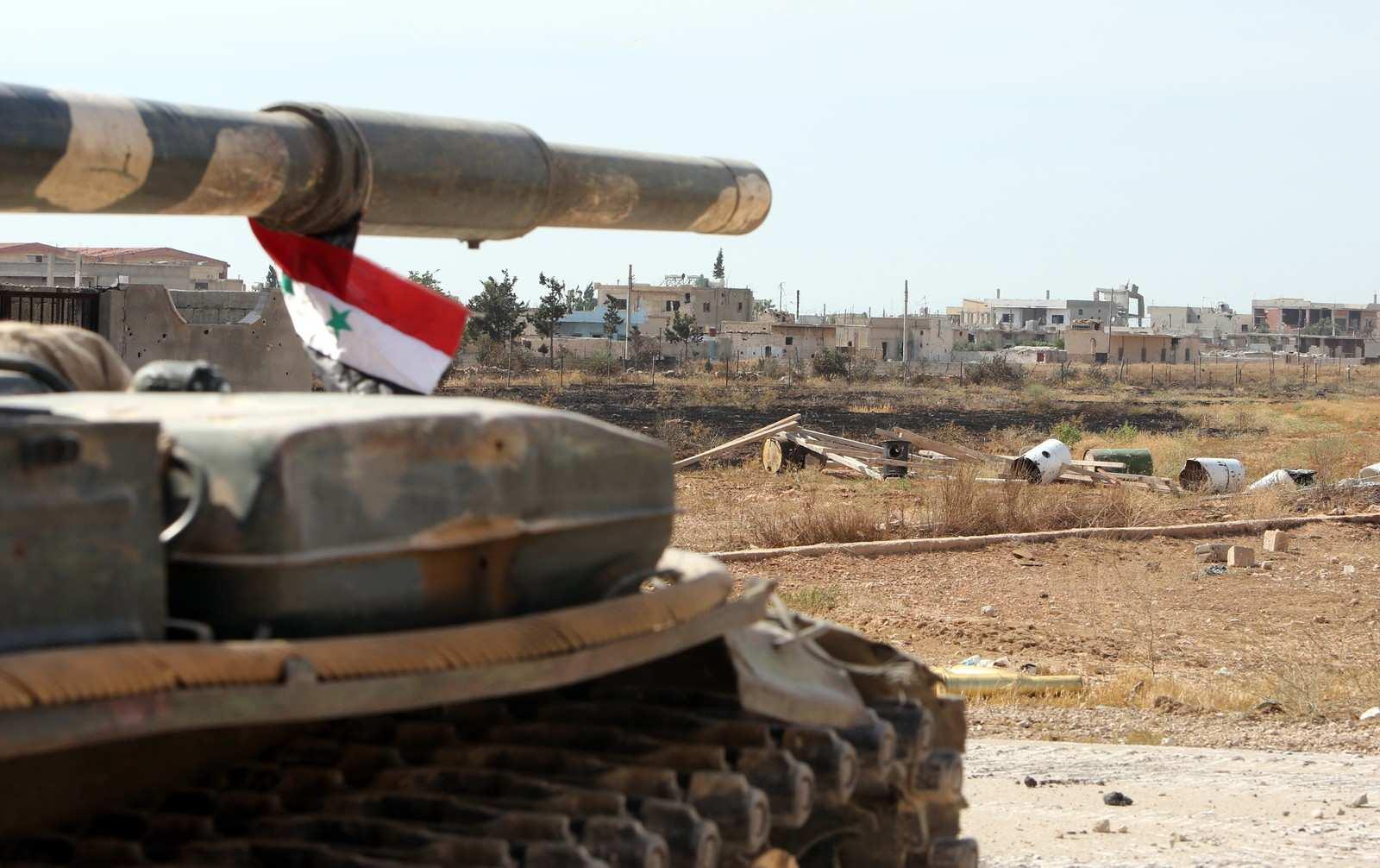 Охота наохотников: сирийский танк и снайпер уничтожили отряд террористов (ВИДЕО) | Русская весна