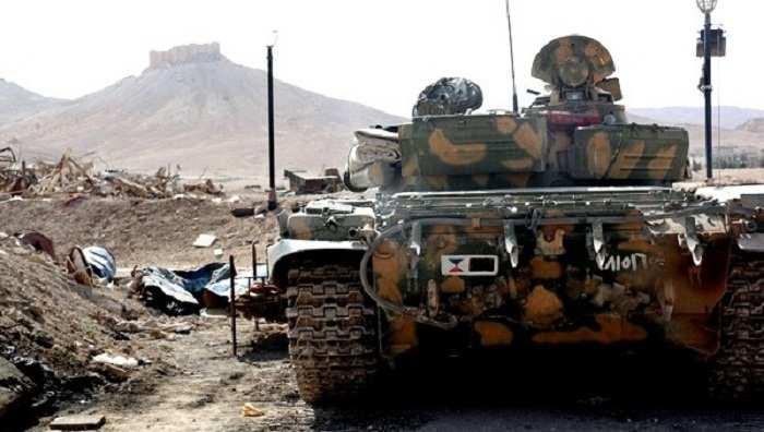 Сирийская армия начала наступление на Пальмиру (ВИДЕО) | Русская весна