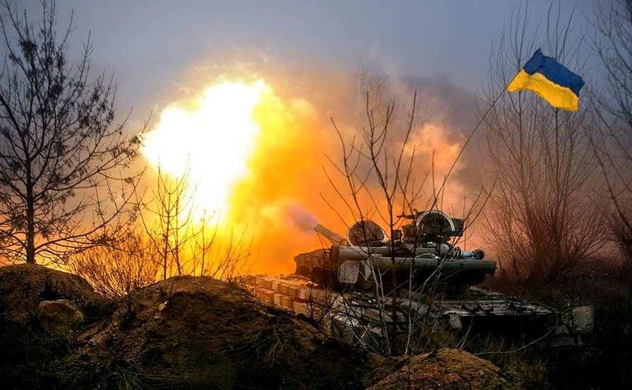ВСУ обстреляли из танков Белую Каменку | Русская весна