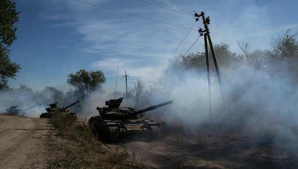 Разведка ДНРзафиксировала улинии фронта 11украинских танков   Русская весна