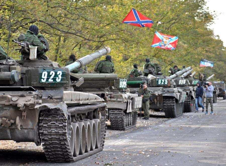 ВАЖНО: ДНР завершила процесс отвода танков, минометов и артиллерии, — СЦКК | Русская весна