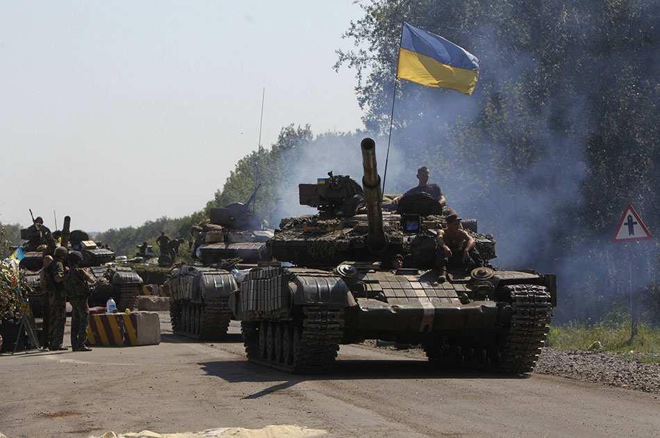 Киев сорвал разведение силуСтаницы Луганской | Русская весна