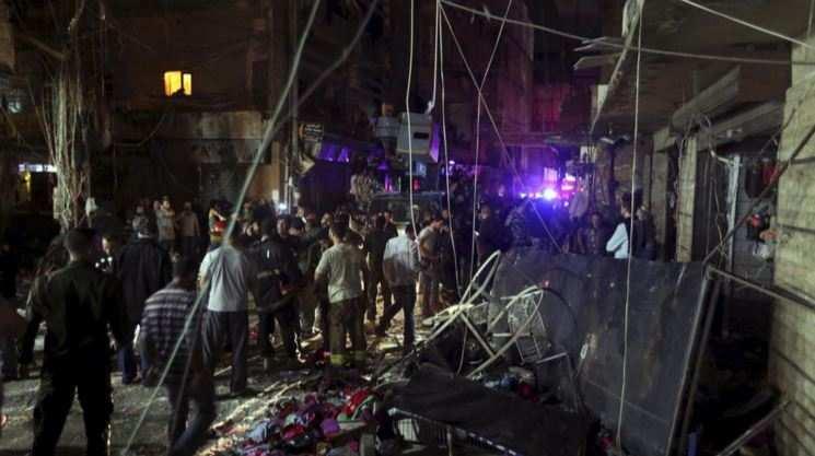 Двойной теракт произошёл вБейруте, десятки человек погибли (ФОТО)   Русская весна