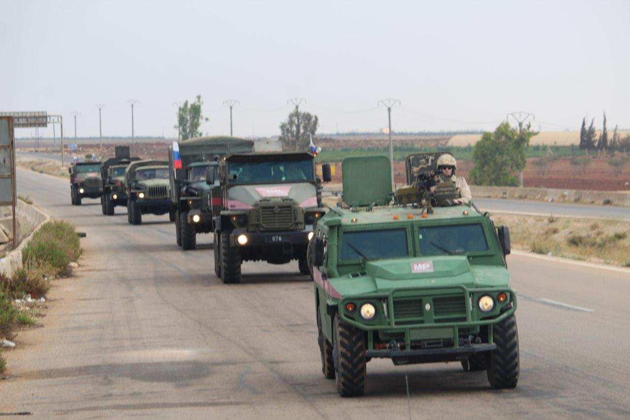 Сирия. Обстановка напряжённая: российские военные встают на пути турецких боевиков (ФОТО) | Русская весна