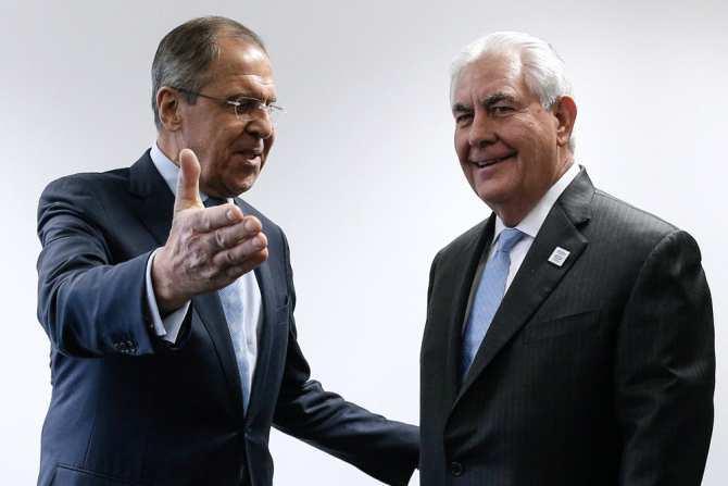 Лавров иТиллерсон обсудили ситуацию вСирии | Русская весна