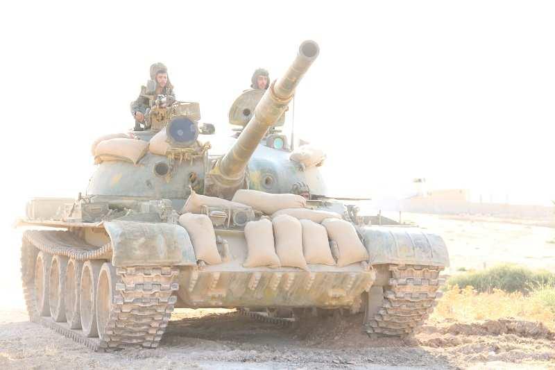 Танковая атака Сирийской Армии под Дераа, 15 октября (ВИДЕО) | Русская весна