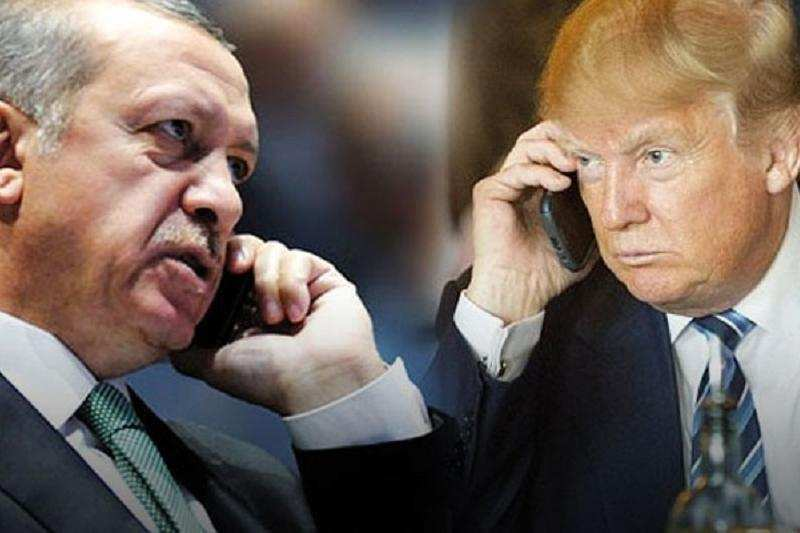 «Знаешь что? Онатвоя» — Трамп «слил» Сирию втелефонном разговоре сЭрдоганом   Русская весна
