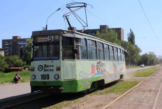 Движение трамваев возобновилось в Луганске   Русская весна