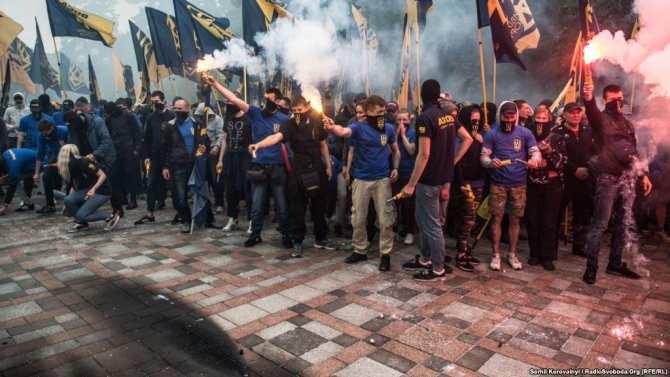 О том, как на Украине «фашизма нет» (ВИДЕО) | Русская весна