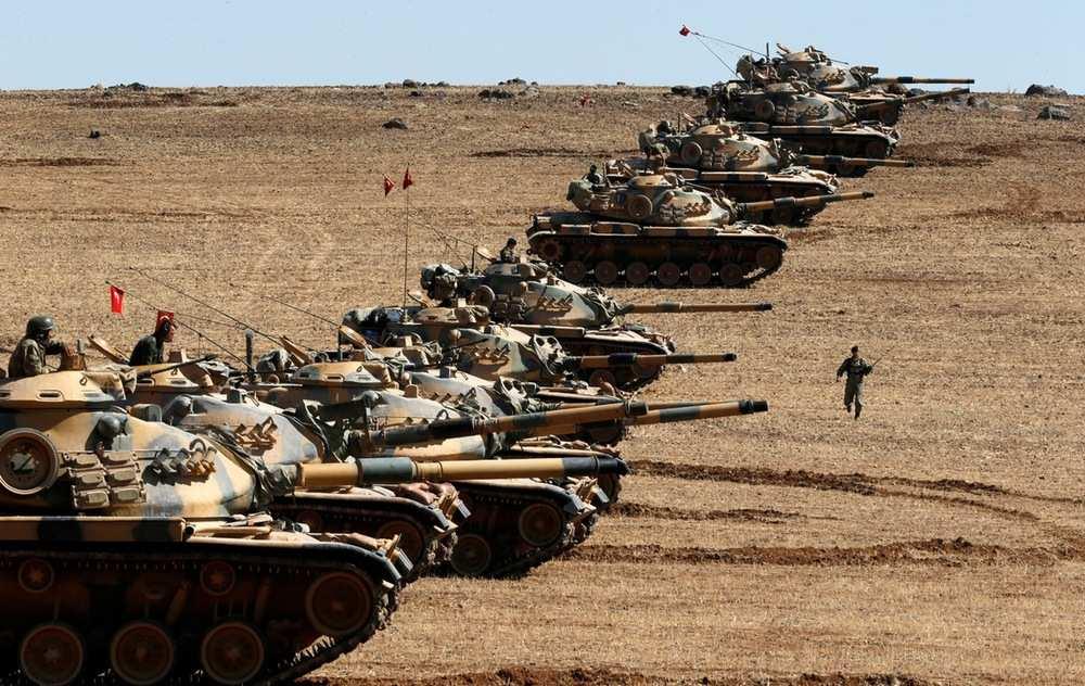 Министр обороны Турции подтвердил, что турецкие военные обстреляли четыре региона Сирии | Русская весна
