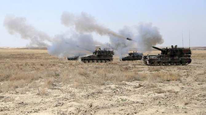 СРОЧНО: Турция начала артобстрелы Сирии, заявляя, что это ответный огонь по ИГИЛ | Русская весна