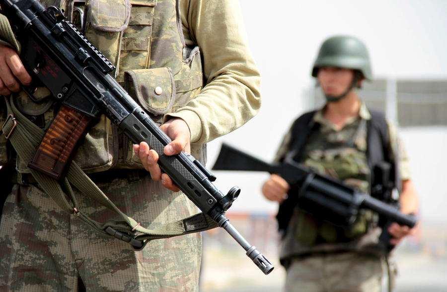 ВАЖНО: готовясь к вторжению, Турция разминировала 6 км границы сСирией и перебросила до 4000 боевиков-туркоманов | Русская весна