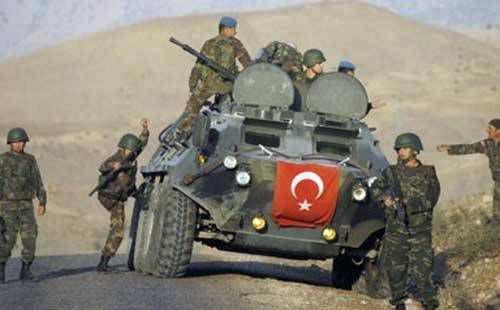 Турецкая армия бежит извосточной Турции отнаступающих курдов (ВИДЕО)   Русская весна