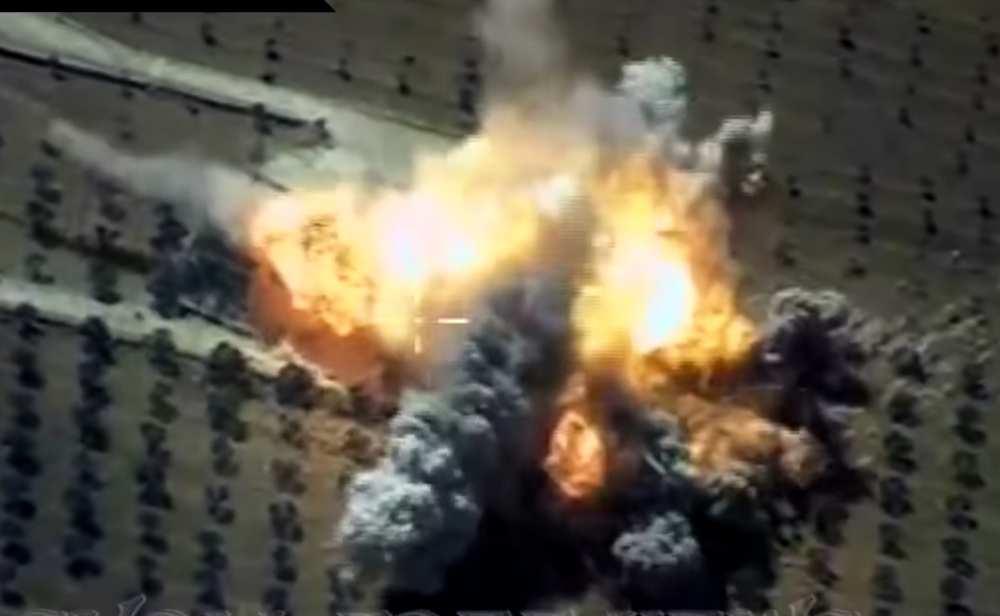 Мощнейший взрыв: ВКС России разнесли в щепки штаб «Аль-Каиды» в Идлибе (ВИДЕО) | Русская весна