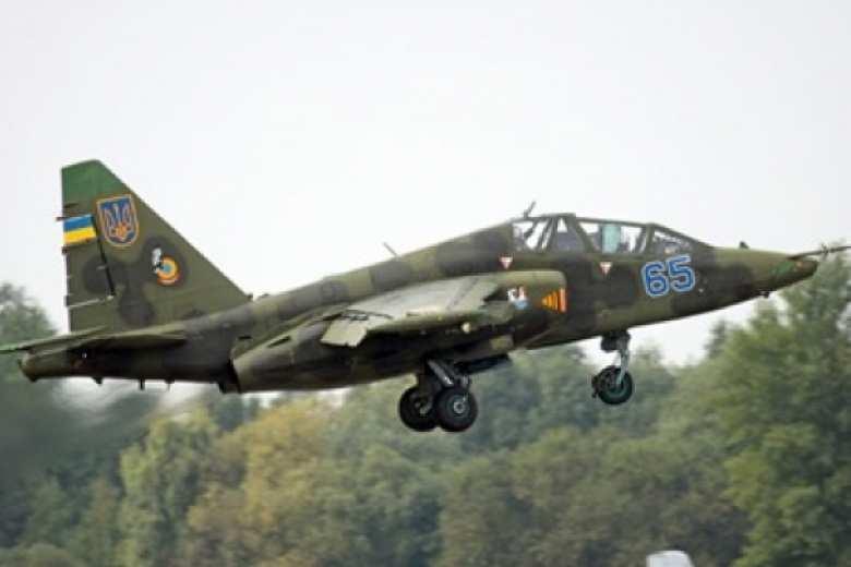 Появились первые кадры с места крушения украинского Су-25 (ВИДЕО) | Русская весна