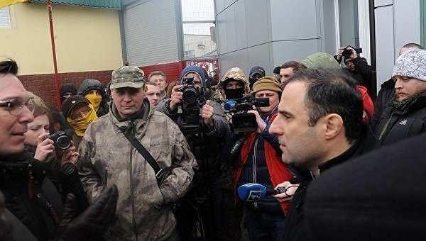Активисты майдана пытались захватить рынок вОдессе | Русская весна