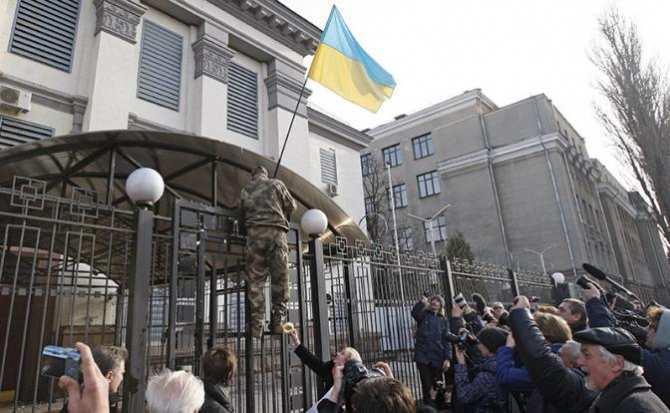 Взять Киев ротой спецназа: Что стоит за атакой на посольство России на Украине? | Русская весна