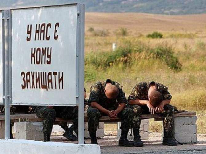 Украинцы отказываются добровольно идти нафронт | Русская весна
